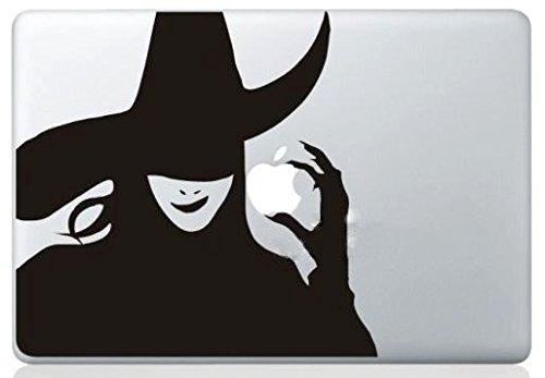 MacBook ステッカー シール Witch [並行輸入品] (13インチ)