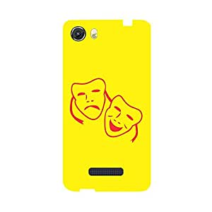 Digi Fashion Designer Back Cover with direct 3D sublimation printing for Micromax Canvas Unite 3 Q372