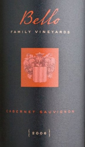 2006 Bello Family Vineyards Cabernet Sauvignon (Library Wine) 750 Ml