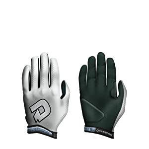 Buy DeMarini Youth Super Light Batting Glove, White, Small by DeMarini