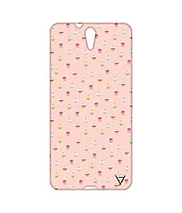 Vogueshell Ice Cream Pattern Printed Symmetry PRO Series Hard Back Case for Sony Xperia C5
