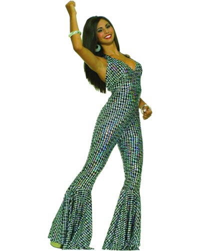 Adult Boogie Dancin Babe Costume ML