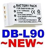 BATTERY FOR SANYO DB-L90 DBL90 Xacti DMX-SH11 VPC-SH1***SHIPS FROM HONG KONG! ***