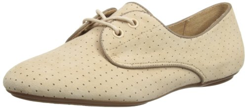 Hush Puppies Womens Chaste Oxford Lace-Up Flats HW05049-101 Nude Perf 8 UK, 42 EU