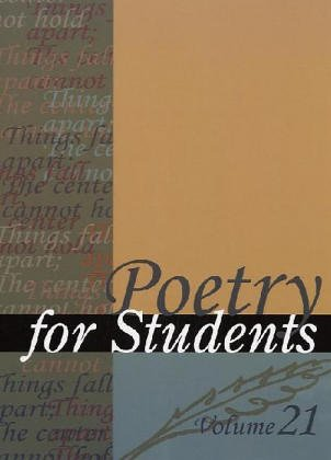Poetry for Students Vol 21