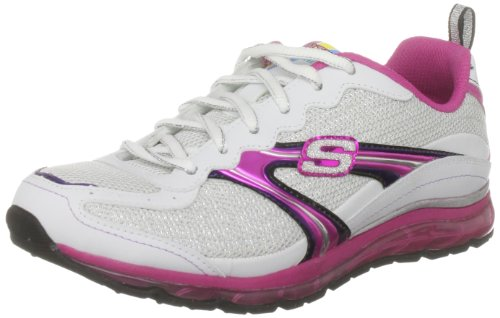 Skechers Girl's Revv Air Halogen Sneaker White UK 3