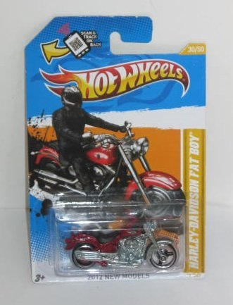 Hot Wheels Harley-Davidson Fat Boy - 2012 New Models