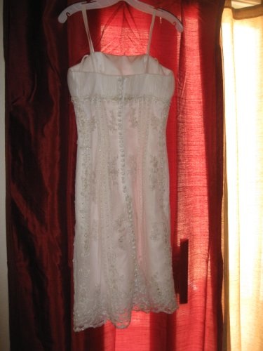 Vintage Lace Wedding or Cocktail Dress