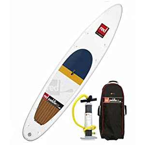 """RED Paddle - Explorer Inflatable Stand Up Paddle Board 2014, White, 12'6"""" from Red Paddle Co"""