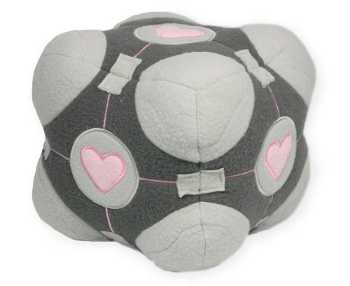 Valve, Portal Weighted Companion Cube Plushie by Neca by Neca