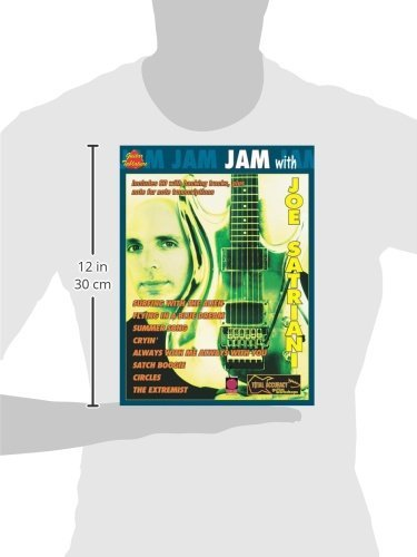 JAM WITH SATRIANI JOE+CD