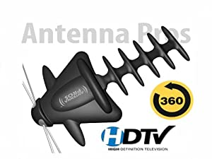 Spectrum9 Amplified Outdoor TV Antenna with Motor Rotor SP9