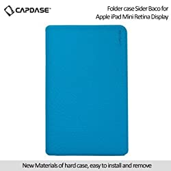 Capdase Sider Baco Folder Case for Apple iPad Mini / iPad Mini with Retina Display - Blue (FCAPIDMR-1B33)