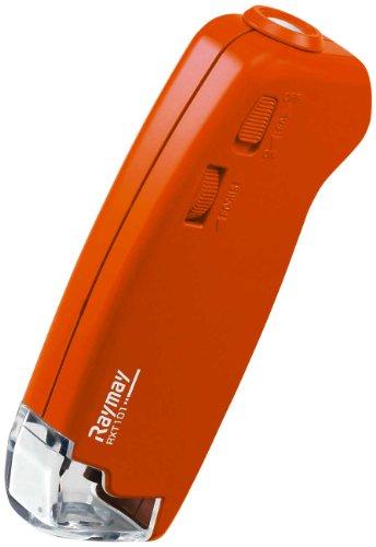 レイメイ藤井 顕微鏡 携帯型 オレンジ RXT101D