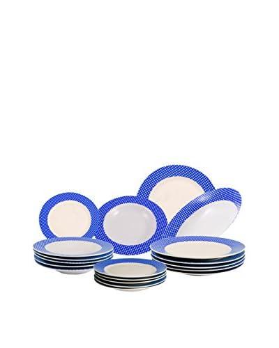 Santa Clara Vajilla Vichy Azul