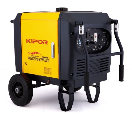 Kipor Power Systems Ig6000H Gasoline Digital Generator
