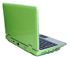 4Gb Green 7 inch Mini Laptop Netbook. Android 2.2. Latest Software. Latest build.