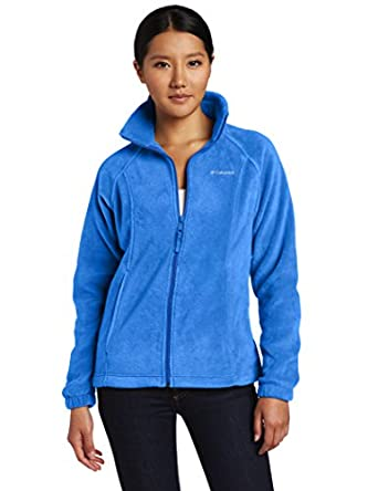 Columbia Women's Benton Springs Full Zip, Harbor Blue, X-Small