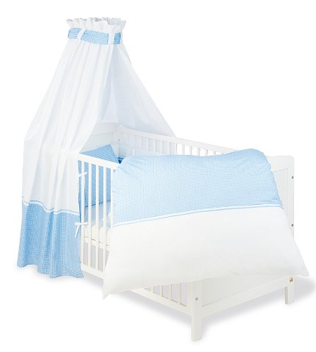 Pinolino-603892-Baby-Bettset-4-teilig-passend-fr-Gitterbetten-der-Gre-70-x-140-cm-und-60-x-120-cm
