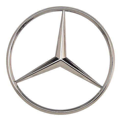 Oes genuine mercedes benz trunk star emblem exterior for Mercedes benz insignia