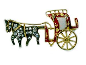 ENAMEL CARRIAGE PIN