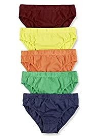 5 Pack Pure Cotton Assorted Slips
