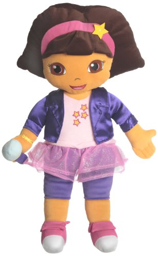 Dora The Explorer Rocks Cuddle Pillow, Pink