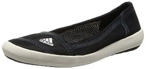 adidas Boat - Femme - Slip-On, Sleek blanc/noir (Taille: 38 2/3) chaussures