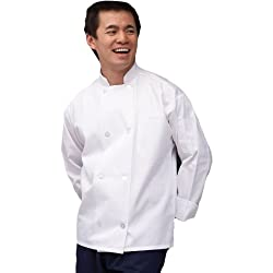 Uncommon Threads The Uncommon Chef Coat in White - XX-Large