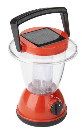 Solar Powered Lantern and Night Light. 6.3