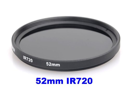 52MM Infrared Filter - IR720 - for Kodak, Fuji, Sony, Canon, Nikon + MORE!