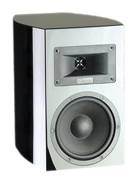 Davis Acoustics Clint Paire d'enceintes étagère 2 voies / 2 haut-parleurs 130 W Noir Laqué