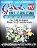 GeMagic/Bedazzler 250 Gem-Colored Rhinestones