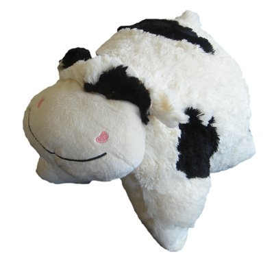 Pillow Pet Soft Toy, Cow, 30 x 50 Cm