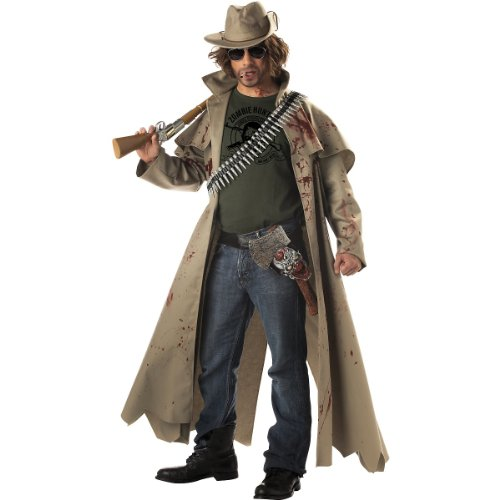 Zombie Hunter Costume - Large - Chest Size 42-44