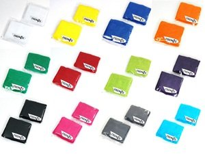 COSMOS ® 12 Pairs of Different Color Cotton Sweat Sports Basketball Wristband by Cosmos