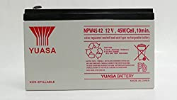 6 LOT Genuine YUASA NPW45-12 12V 45W/Cell 9Ah F2 Connectors UPS Rechargeable Uninterrupted Power Supply (UPS) Battery