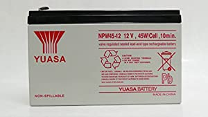 3 LOT Genuine YUASA NPW45-12 12V 45W/Cell 9Ah F2 Connectors UPS Rechargeable Uninterrupted Power Supply (UPS) Battery