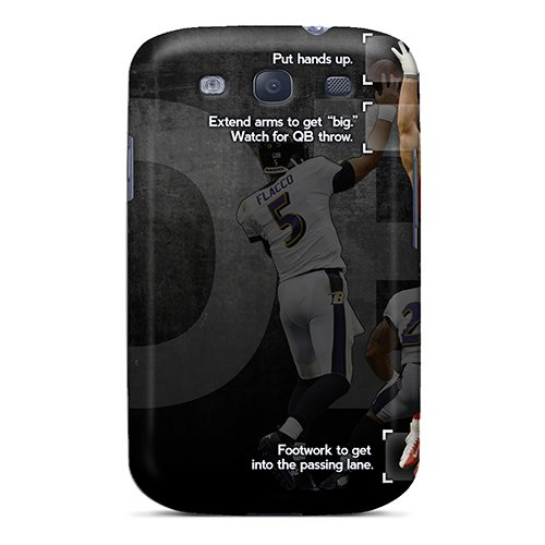 Premium Nfl Player Jj Watt Heavy-Duty Protection Case For Galaxy S3 front-782306