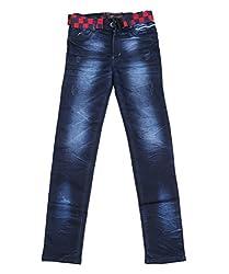DUC Boy's Denim Dark Blue Jeans (kd07-db-40)