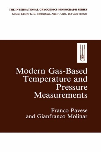 Modern Gas-Based Temperature and Pressure Measurements (International Cryogenics Monograph Series)