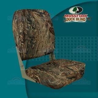 Springfield 1040647 Camouflage Mossy Oak Duck Blind Economy Folding High Back Chair