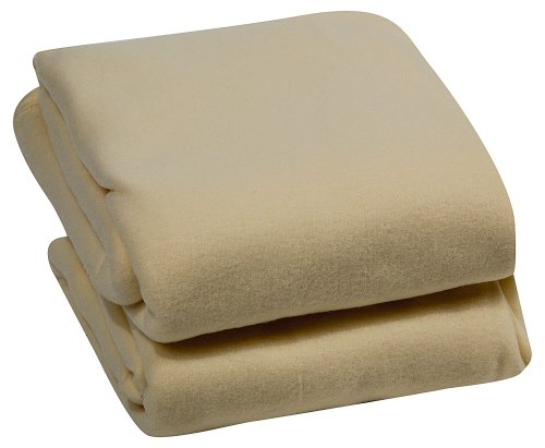 Royal Luxury Micro Plush Full Blanket, Cream front-631382