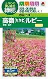 【種子】赤花そば 高嶺ルビーNeo 15ml
