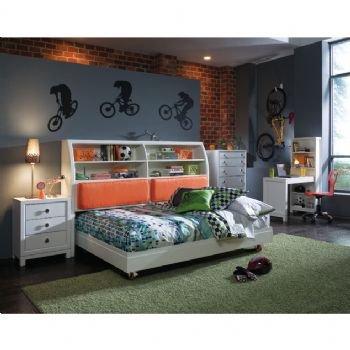 Cheap Nickelodeon Kids Tween Twin Slider Castered Platform Bedroom Set (1 BX-960-923, 1 BX-960-900, 1 BX-960-261, 1 BX-960-032, 1 BX-960-412) (B004UY8INS)