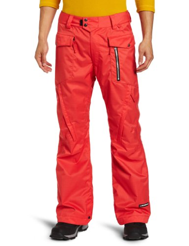 Ride Snowboards Men's Westlake Pant, Red Twill, Large