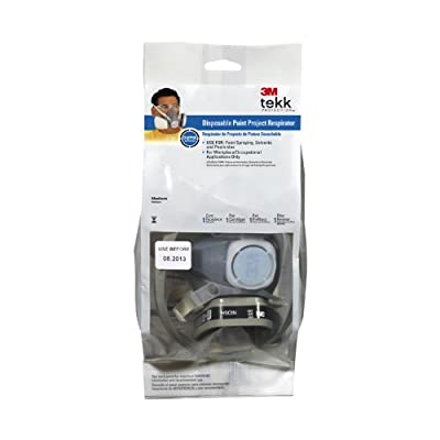 3M Tekk Protection Low Profile Lightweight Disposable Paint Respirator