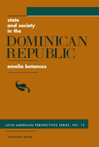 State And Society In The Dominican Republic (Latin American Perspectives)