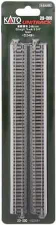 Nゲージ 20-000 直線線路 248mm (4本入)