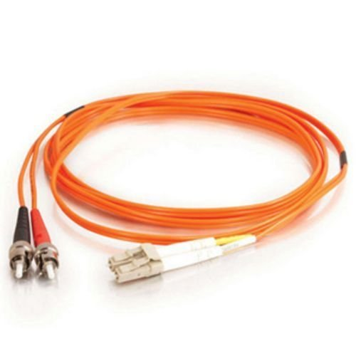C2G / Cables To Go 33169 Lc/St Duplex 62.5/125 Multimode Fiber Patch Cable (15 Meters, Orange)